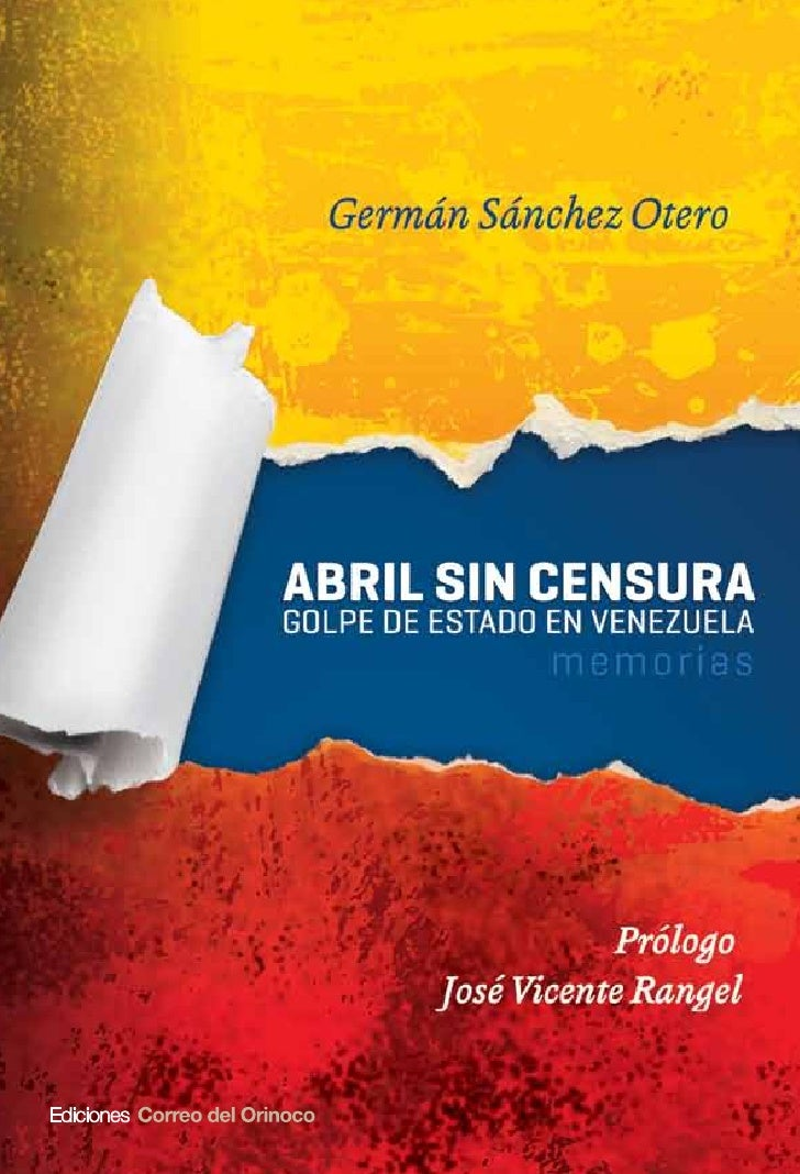 Abril sin censura. sanchez otero