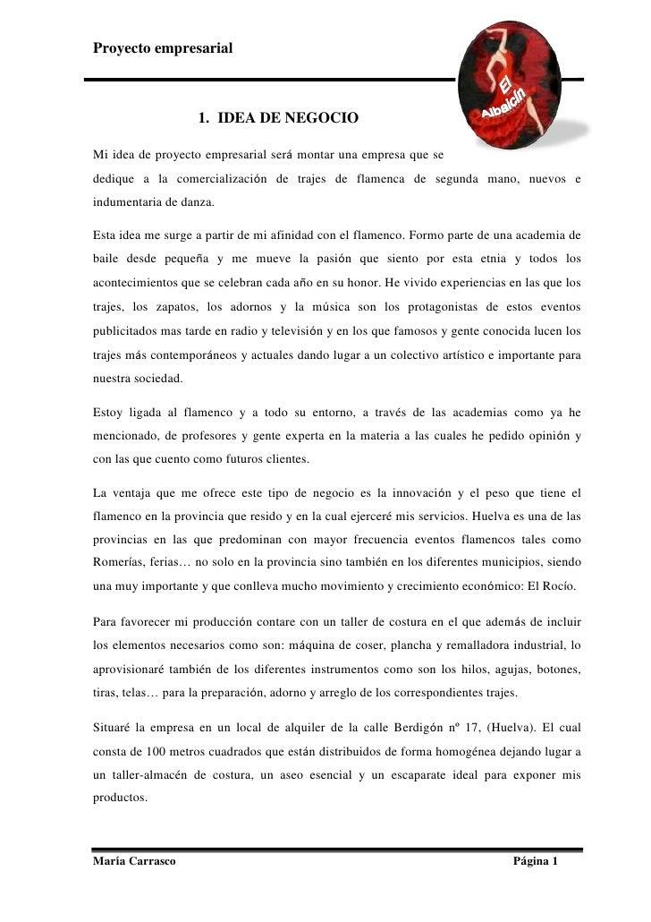 proyecto empresarial Administración y Finanzas