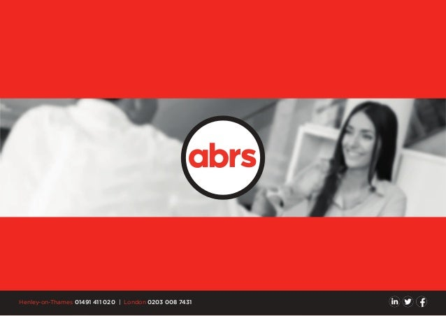 ABRS - All about us and what we can do for you.