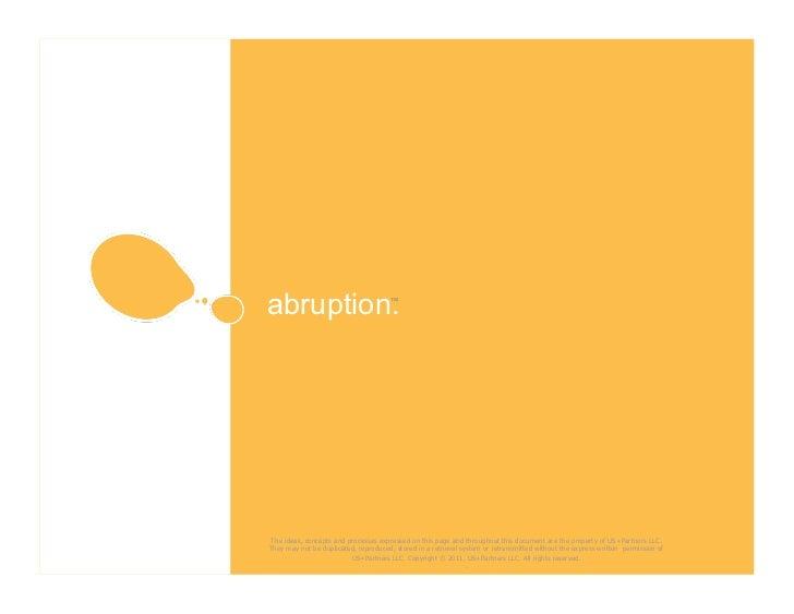abruption™. US+Partner's Strategic Planning Process