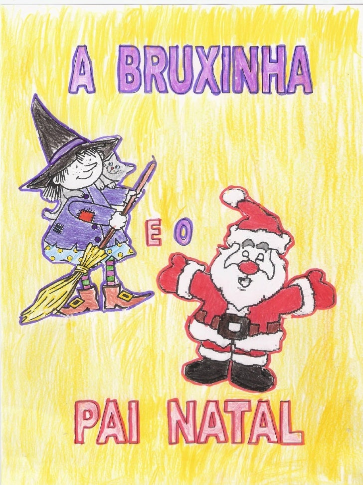 A Bruxinha E O Pai Natal