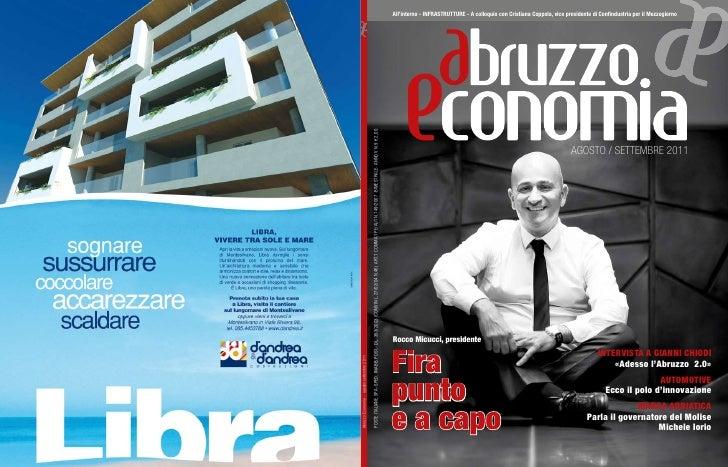 Abruzzo economia ago_sett_2011