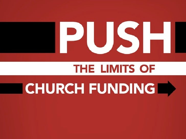 Overview Part 1: The problem with church funding Discuss the changing rules of church giving