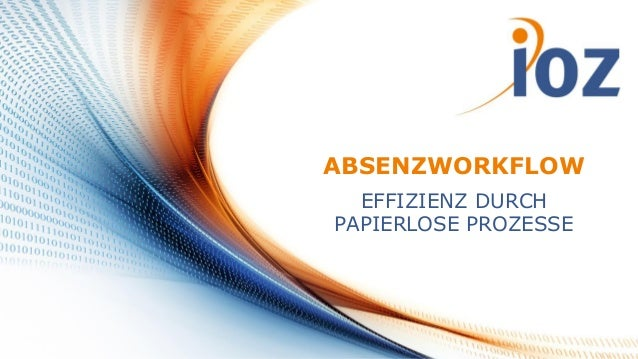 Absenzworkflow mit SharePoint