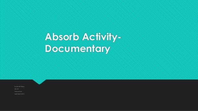 Absorb activity arctic tale