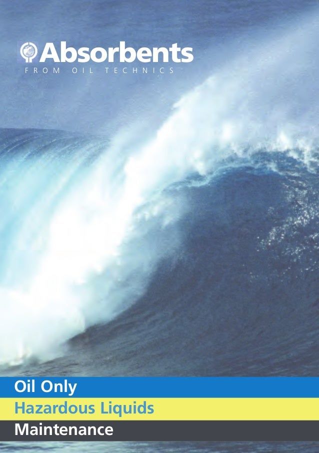Oil Technics Ltd (OTL): Absorbents Brochure