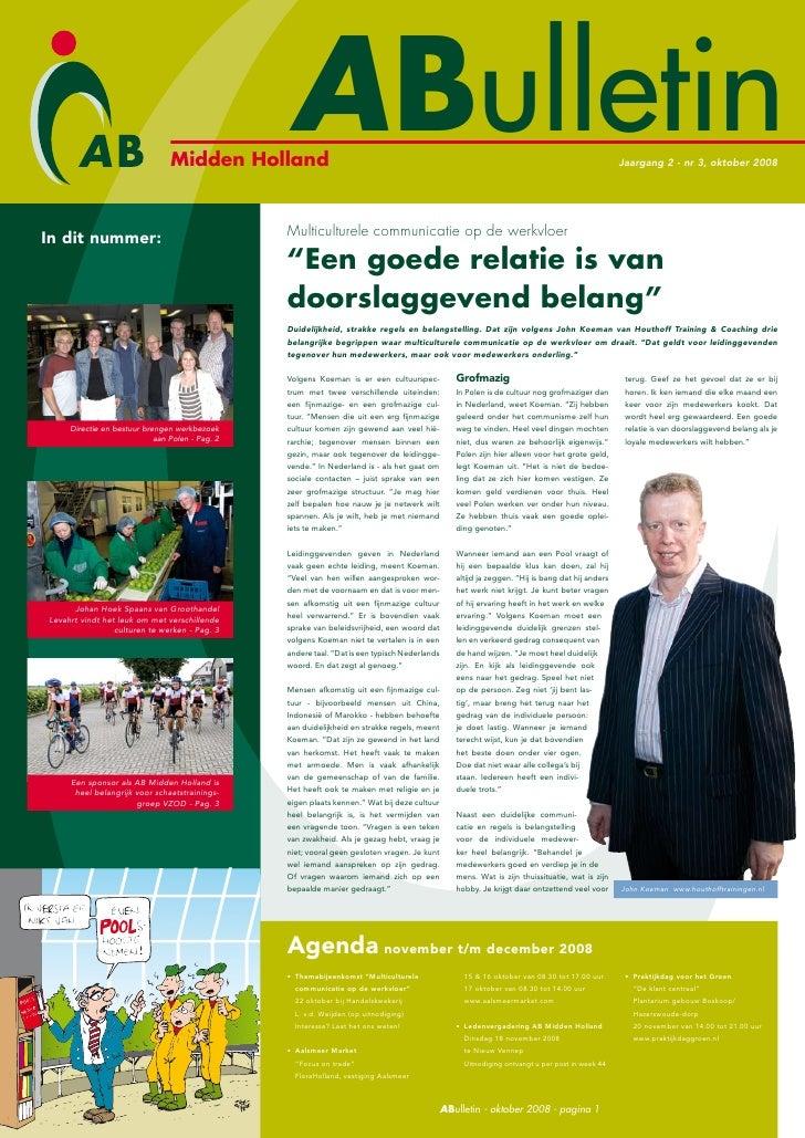 Midden Holland                                                    ABulletin                                               ...