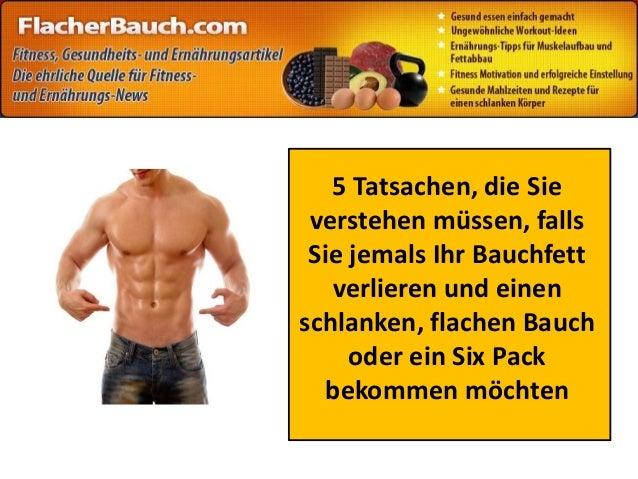 5 Tatsachen, die Sie verstehen müssen, falls Sie jemals Ihr Bauchfett verlieren und einen schlanken, flachen Bauch oder ei...