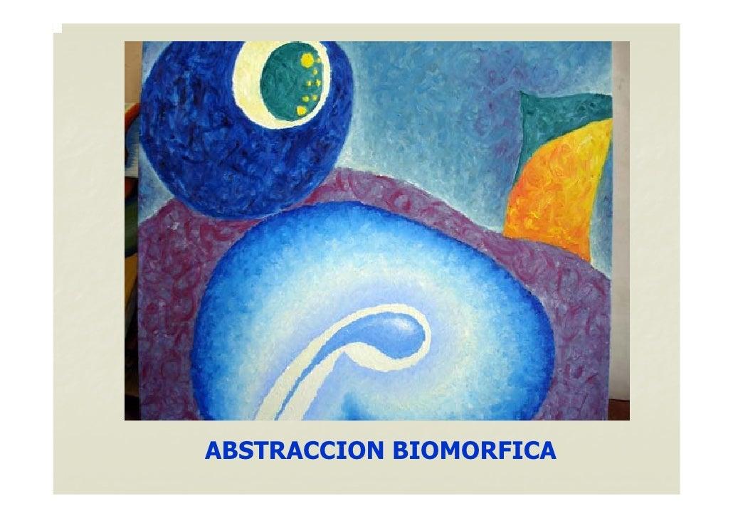 ABSTRACCION BIOMORFICA