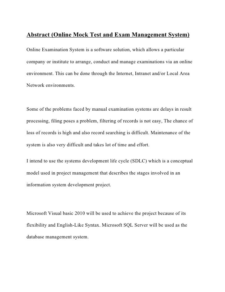 admission management system abstract This system is expected to increase the efficiency of the college's record management and staff significantly fewer man hours will be necessary to access and deliver student records to users throughout the day, and later to file these records again.