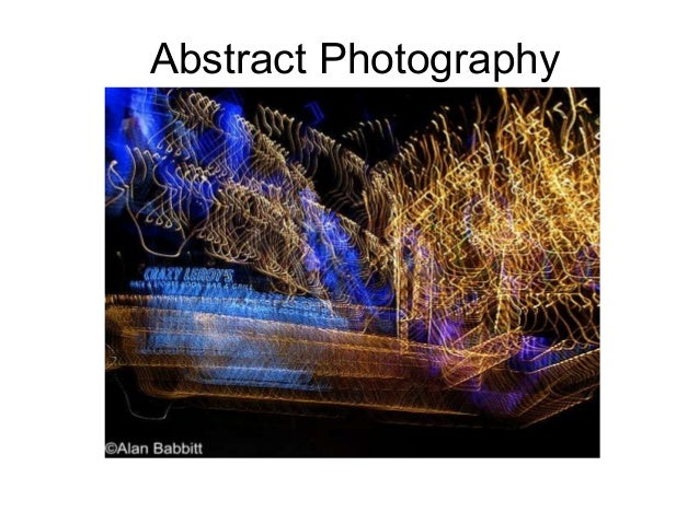 Abstract photography-ppt