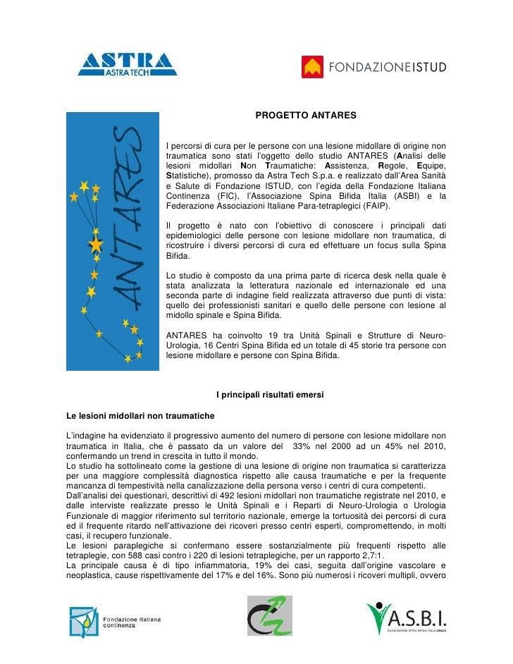Abstract Progetto Antares