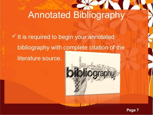Abstract bibliography