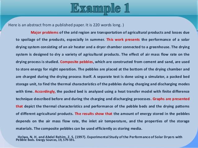 example essay in apa format