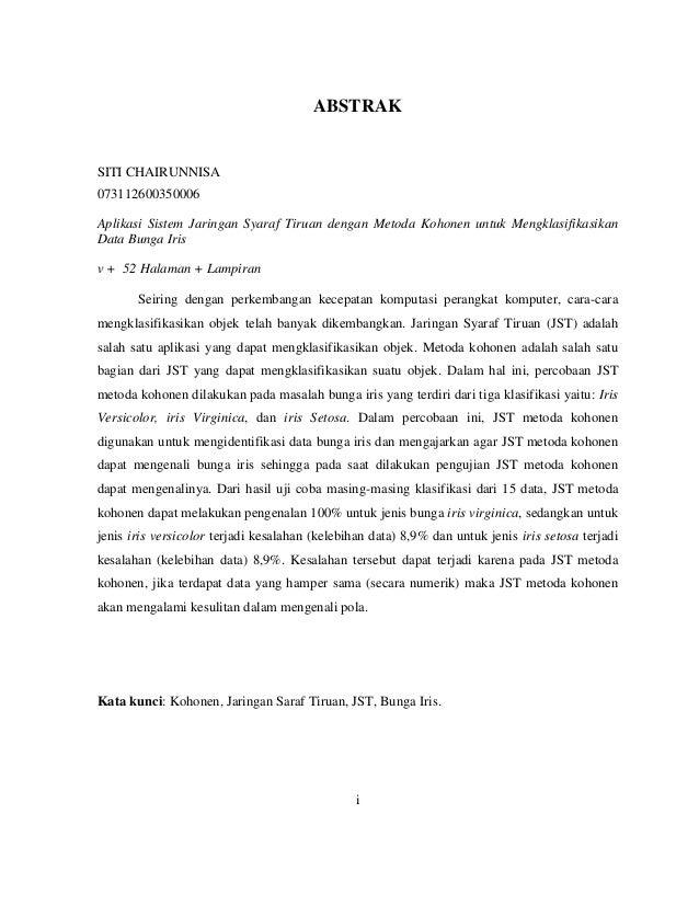 Contoh Abstrak Skripsi Analisis Laporan Keuangan Home Dac