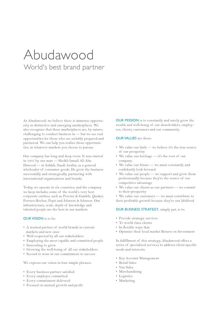AbudawoodWorlds best brand partnerAt Abudawood, we believe there is immense opportu-       OUR MISSION is to constantly an...