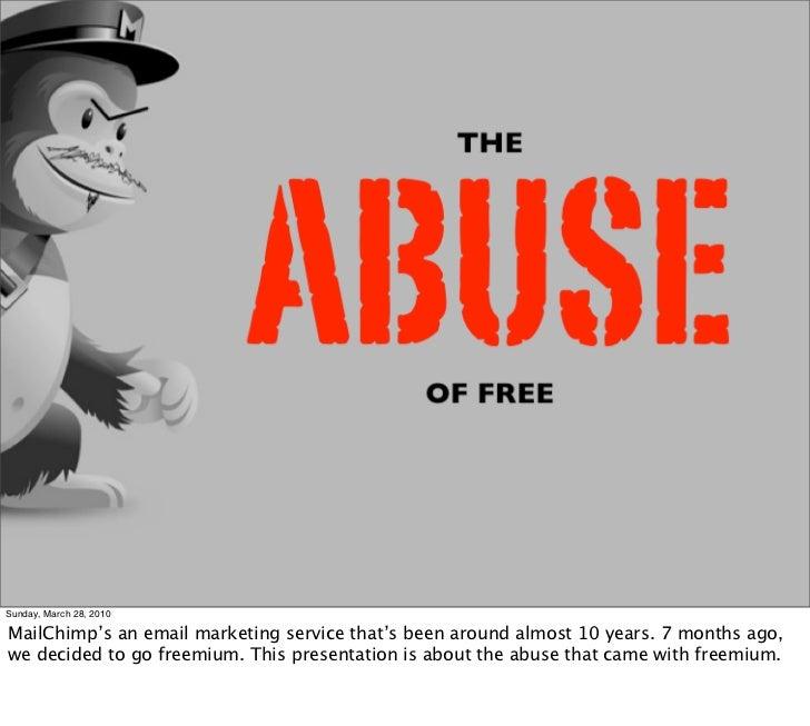 Abuse Of Freemium