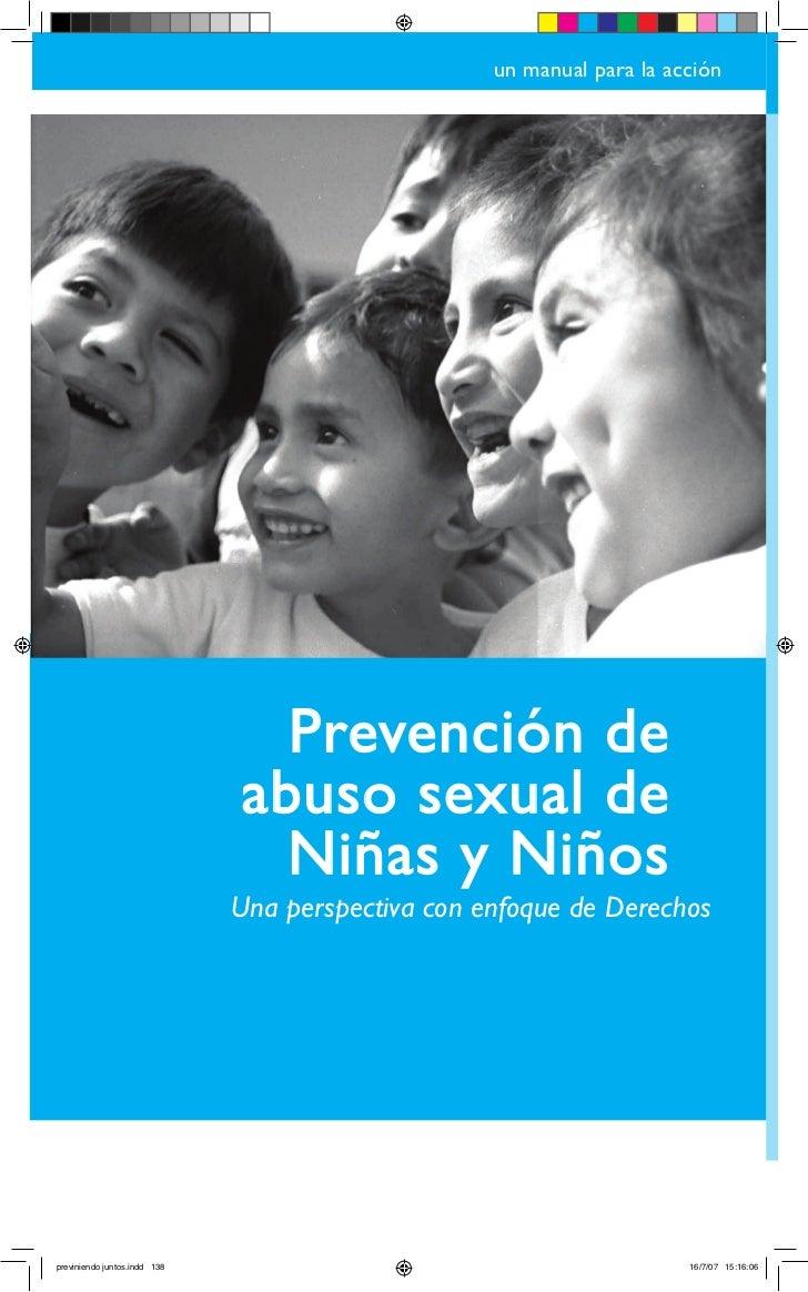 un manual para la acción                                     Prevención de                               abuso sexual de  ...