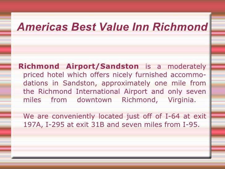 Hotel in Richmond VA