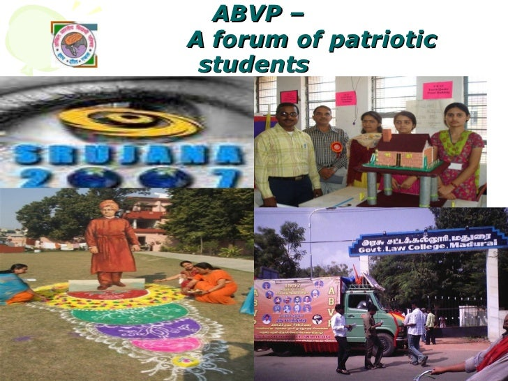 ABVP –   A forum of patriotic students