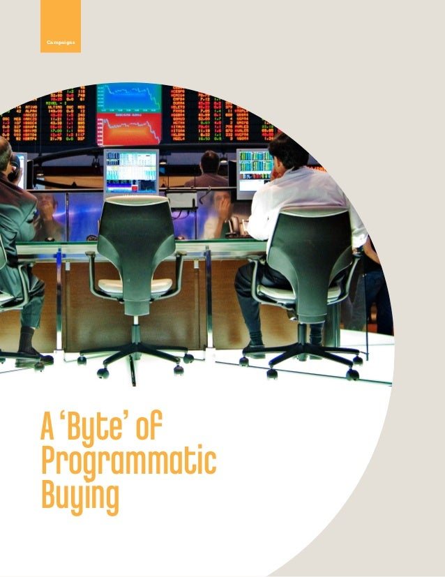 A Byte of Programmatic Buying