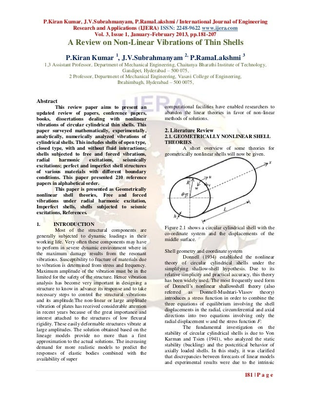 P.Kiran Kumar, J.V.Subrahmanyam, P.RamaLakshmi / International Journal of Engineering               Research and Applicati...