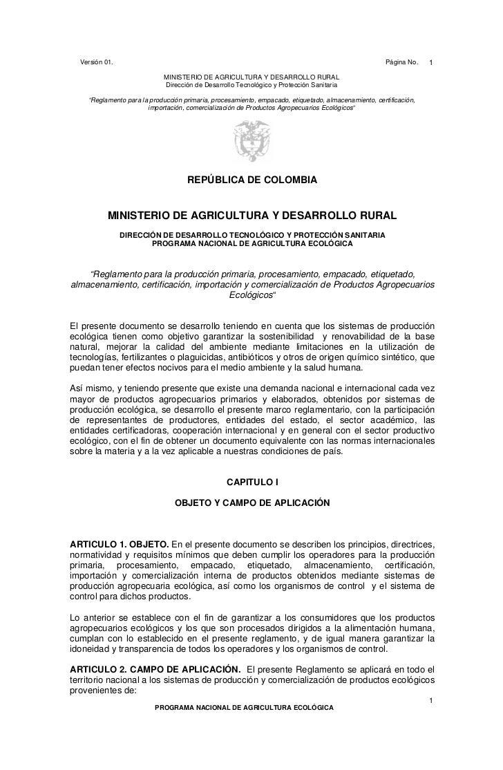 Ac 56 ac_56_reglamento produccion organica