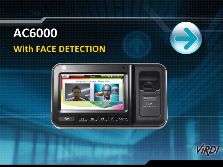AC6000 With FACE DETECTION