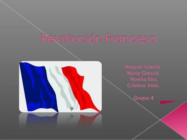 Revolución Francesa-Grupo 4