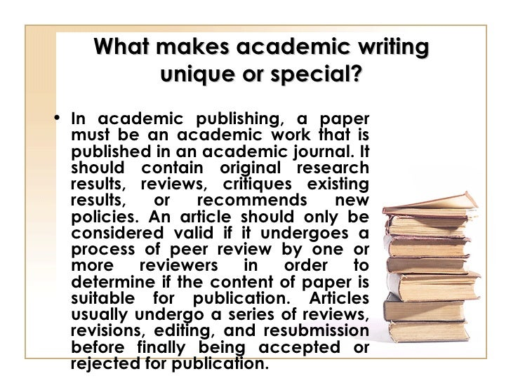 how to write an academic paper for publication So you want to write a journal article but are unsure about how to start it off well, here's a few things to remember the introduction to your journal article must create a good impression readers get a strong view of the rest of the paper from the first couple of paragraphs if your work is.