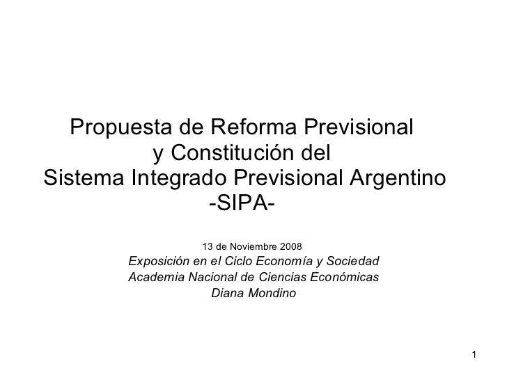 ANSES - Sistema Previsional Argentino  y el fin de las AFJPs