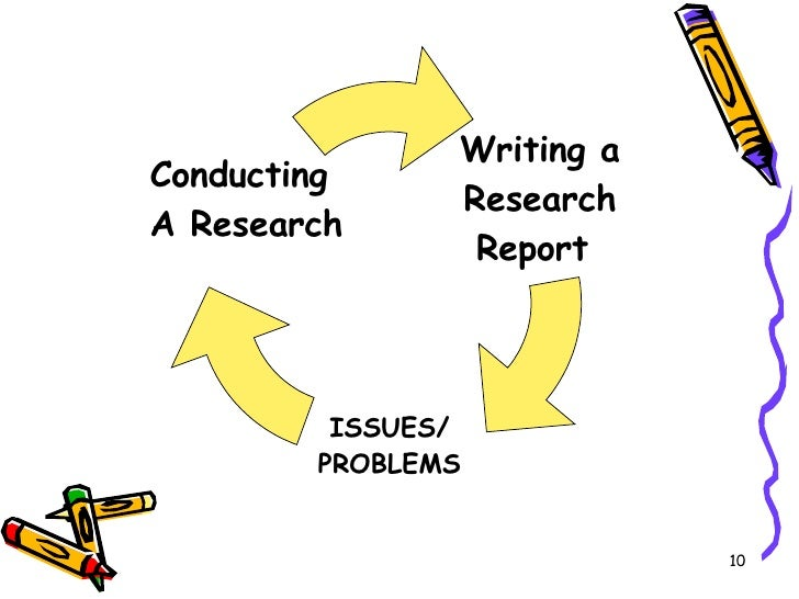 Problems in report writing