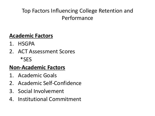 "factors to be successful at college College women studying ""supporting students' college success: the role of  assessment of interpersonal and intrapersonal competencies""."