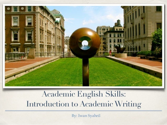 academic writing template