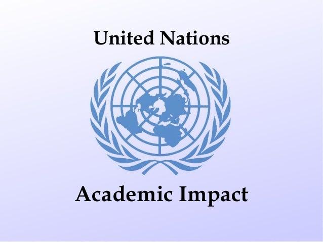 UNIC Jakarta Academic Impact presentation (English)