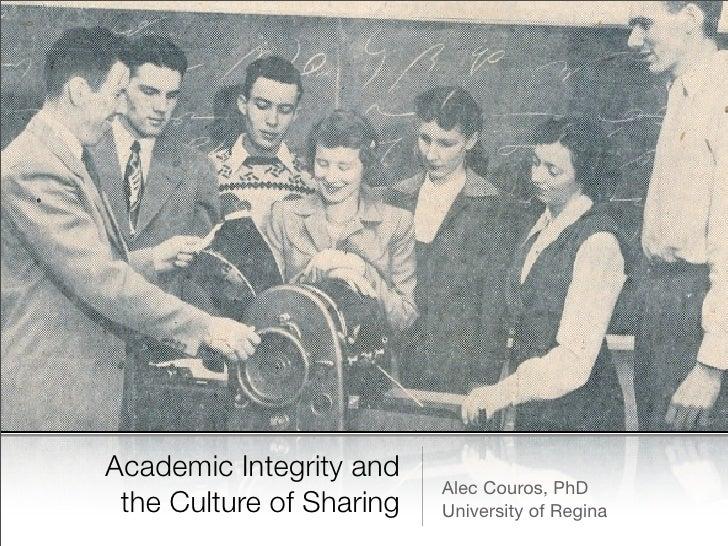 Academic Integrity Keynote
