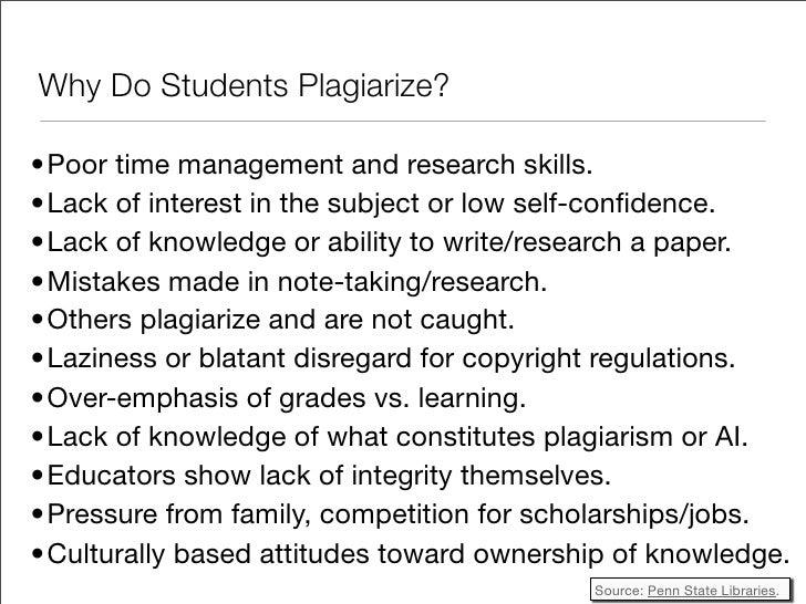 what constitutes plagiarism