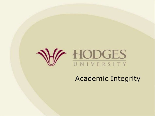Academic Integrity Overview