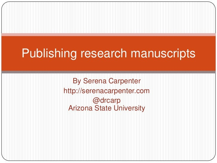 Academic Publishing in Communication and Journalism