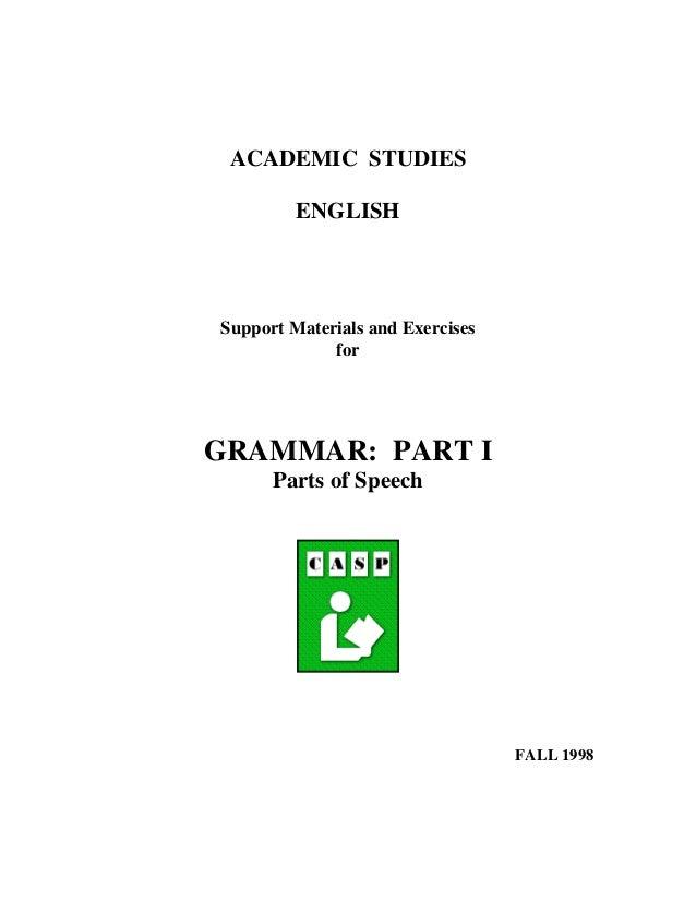 Academic studies english module5
