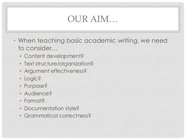 We need academic writers
