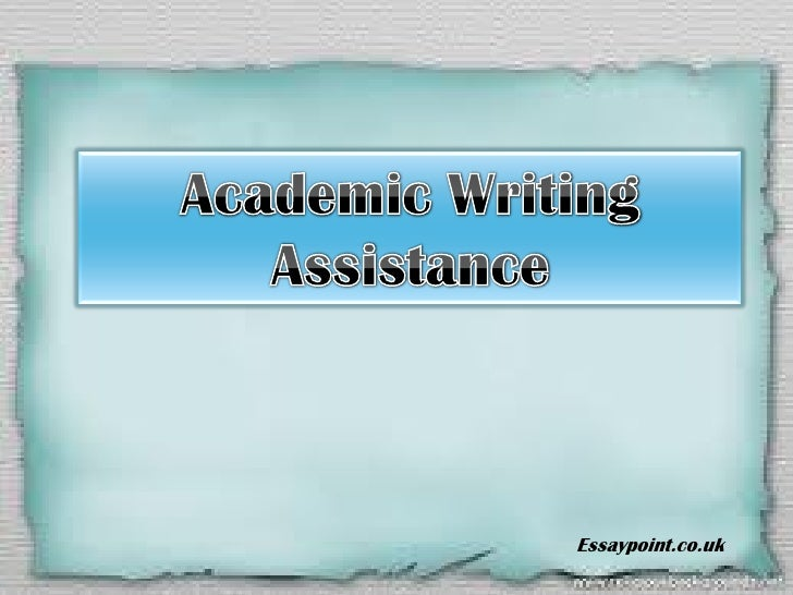 Academic writing assistance - where your success lies