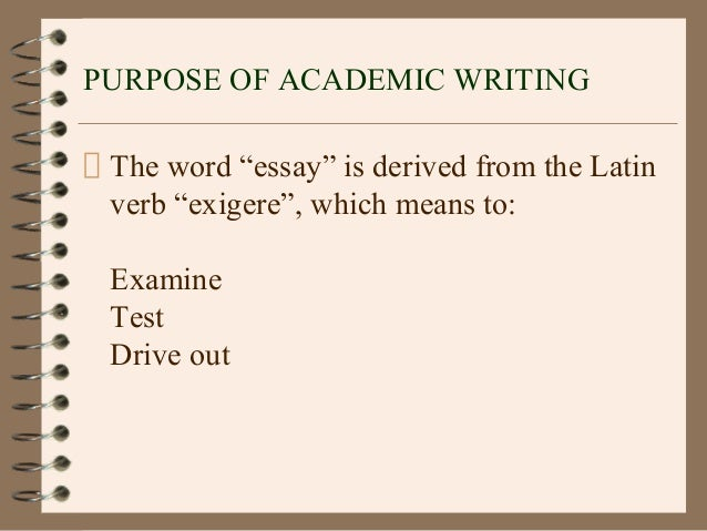 Essay Writing - University of Hull