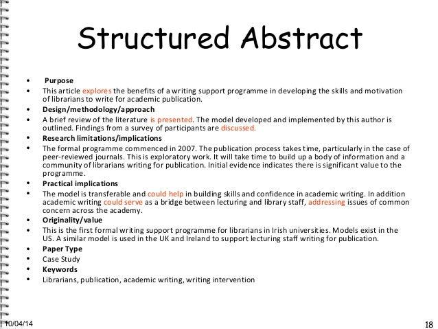 Undergraduate Essay Structure