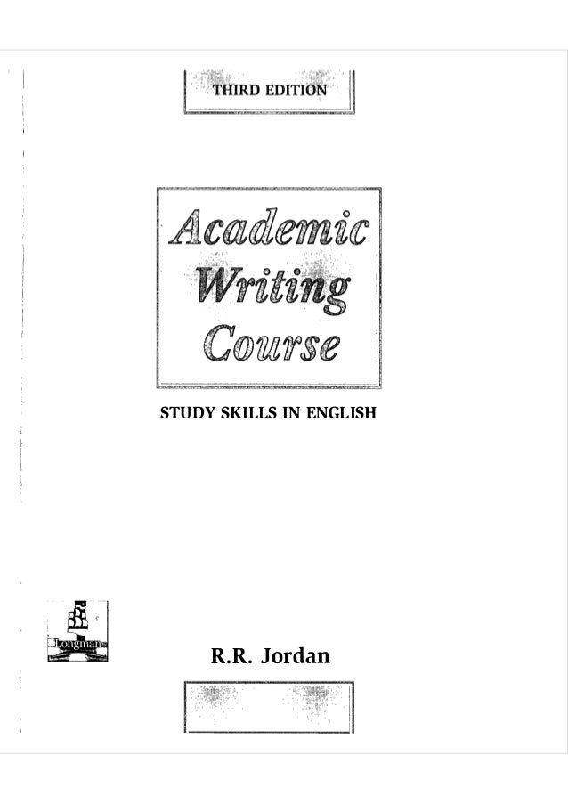 academic writing for graduate students Books on writing for graduate students  knowledgeable advice from a journal editor on planning, writing, and publishing academic work in the sciences.