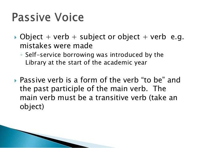 Editing in grammar