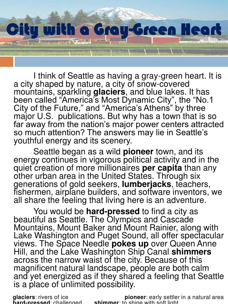 essay about city of my dream