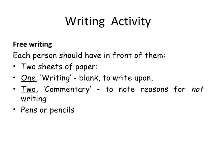Writing paper to help with spacing