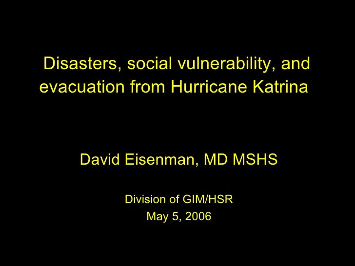 Katrina Research