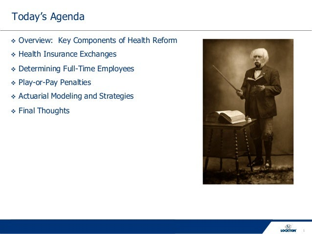 Key Components of Health Reform